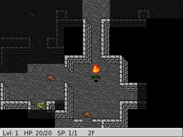 MidBoss: A possession based graphical roguelike